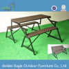 Kd Design Folded Bench with Special Weaving