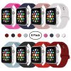 Sport Band Compatible with Watch Band 38mm 42mm 40mm 44mm, Soft Silicone Replacement Sport Strap ...