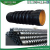 HDPE Plastic Hot Filament Spiral Winding Pipe