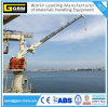 2.2t@22m Knuckle Telescopic Boom Marine Crane