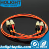 Fiber Jumper Cable LC to LC 50mm 3.0mm Duplex Orange