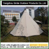 New Design Construction Event Windproof Cotton Canvas Teepee Tent