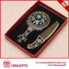 Bronzed Decorative Hand Mirror &Comb Set for Promotional Wedding Gift