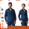 Custom Blue Color Industrial Factory Worker Uniform with Cotton