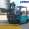 China Electric Forklift 4t Forklift with 2-Stage Mast