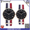 Yxl-495 New Arrival Fashion Watch Knitted Canvas Nato Nylon Strip Couple Wrist Watch Casual Dress Mens Watches Promotion Watch