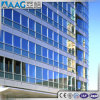 Visible Frame Inclined Building Curtain Wall Exposed Frame Supported Glass Curtain Wall