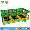 Kid Playground Indoor Playground Promotion Commercial Trampoline with Basketball Hoop