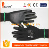 Ddsafety 2017 Black Nylon with Black PU Glove