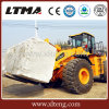 Block Handle 25 Ton Forklift Wheel Loader with Bucket