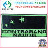 National Flag Adhesive Back Embroidery Badge, Cloth Patch