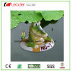 Lovely PU Crocodile Figurine with Swimming for Pool Floating Decoration