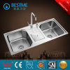 Stainless Steel Kitchen Sink with Dish Drainer (BS-7026)