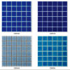 Ceramic Tile Blue Color