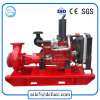 High Efficiency Diesel Engine End Suction Centrifugal Fire Fighting Pump