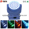Nj-L36A RGBW 4in1 36*10W LED Moving Head Wash Light