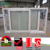 Latest Design PVC Frame Huricane Impact Glass Sliding Windows