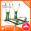 Galvanized Pipe Double-Walkers Fitness Instrument Body Fit Equipment