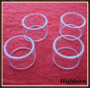 Polishing Transparent Silica Quartz Rings Flange for Smoking Product