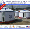Nature Style Outdoor Mongonlian Yurt with Toilet