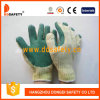Cotton Green Rubber Glove Dcl314