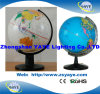 Yaye 26 Cm White Colour English Globe & World Globe & Educational Globes & Plastic Globe with World Map (YAYE-ST-666)