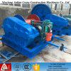 10ton Slow Speed Electrical Cable Winch for Crane