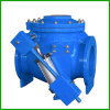 Swing Check Valve with Air Cushioned Cylinder- Check Valve