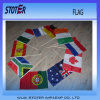 Sublimation Printing Promotonal 110g Polyester Custom Hand Waving Flag