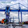 Electric Mobile Harbour Rubber Tyre Gantry Crane for Sale