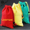 Lovely Colorfull Canvas Drawstring Bag for Shopping (HC00150702001)