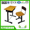 Wooden Single Desk and Chair for Student (SF-06S)