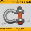 U. S Type Drop Forged G 2130 Bolt Safety Anchor Shackle