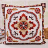 Cotton Embroidery Flower Cushion Fashion Pillow (GL04-558)