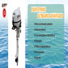Hangkai Outboard Engine 2/4 Stroke 3HP to 30HP CE/EPA Approved