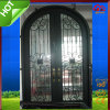 Double Entry Wrought Iron Door