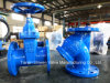DIN F4 Resilient Seated Gate Valve and Y Strainer Pn16
