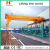Double Girder Semi Gantry Crane for Workstation Use