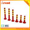 a Standard Block PVC Warning Post Traffic Column