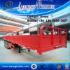 China Manufacturer Tri Axles Bulk Cargo Wall Side Board / High Wall Semi Trailer
