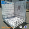 Foldable Stacking Galvanized Metal Pet Preform Storage Cage