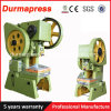 Durmapress Factory J21s 63t Manual Punching Machine