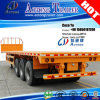3 Axles Platform Semi Trailer with Air Suspension