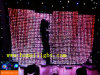 Animated LED RGB Pattern Cutain with CE Wedding Party Pub Decoration