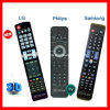 LCD LED 3D HDTV Remote Control for Samsung, LG and Philips