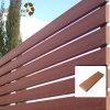 Mahogony WPC Wood Plastic Composite Fence