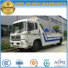 Dongfeng LHD Road Wrecker 4*2 Towing Truck for Sale