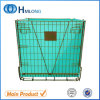 Warehouse Metal Collapsible Pet Preform Wire Mesh Container