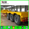 3 Axles Excavator Transport Low Bed Semi Trailer 100t Low Bed Trailer