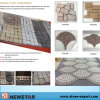 Granite Fan-Shaped Paving Stone (MCFL01)